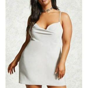 Forever 21 plus size slip dress